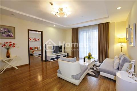 Tản Đà Plaza 2 phòng ngủ, đủ nội thất, lầu cao, giá 12tr/tháng