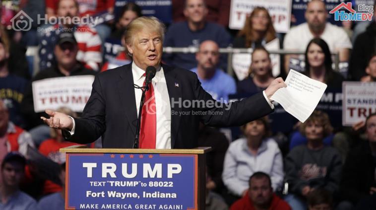 cuoc doi Donald Trump