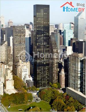 Toa nha Trump Tower New York voi tam nhin rong mo