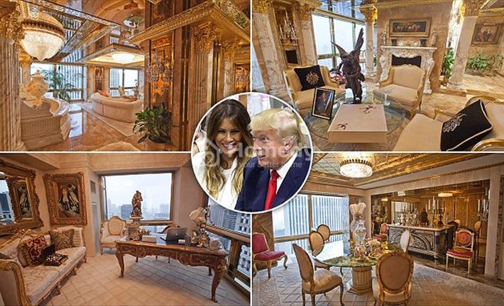 Cận cảnh nơi ứng viên tổng thống Mỹ Donald Trump từng ở với ba người vợ