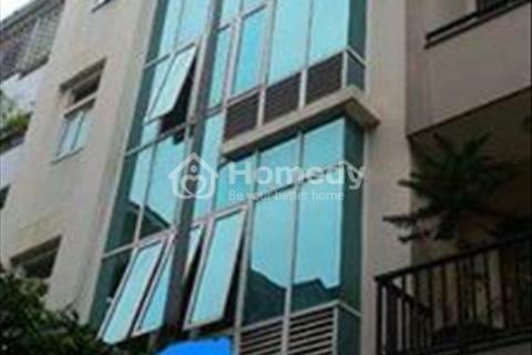 Cho thuê nhà văn phòng Trung Kính 68 m2, 6 tầng, mt 6m giá 45 triệu/ tháng sàn thông, có thang máy
