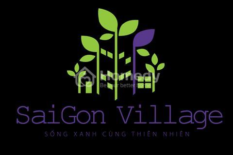 Đất nền hot nhất thị trường cuối năm 2016 Saigon Village.