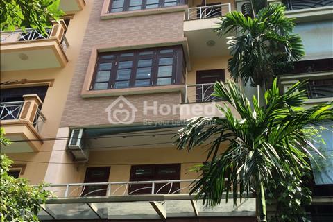 Cho thuê nhà khu đô thị Trung Yên, 100 m2 x 6 tầng. Nhà mới đẹp, thiết kế hiện đại, có thang máy