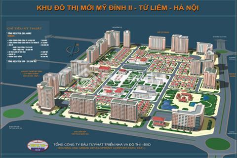 Cho thuê biệt thự Mỹ Đình 2. Diện tích 120 m2 x 4 tầng, giá 35 triệu/ tháng