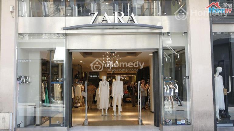 cua hang Zara