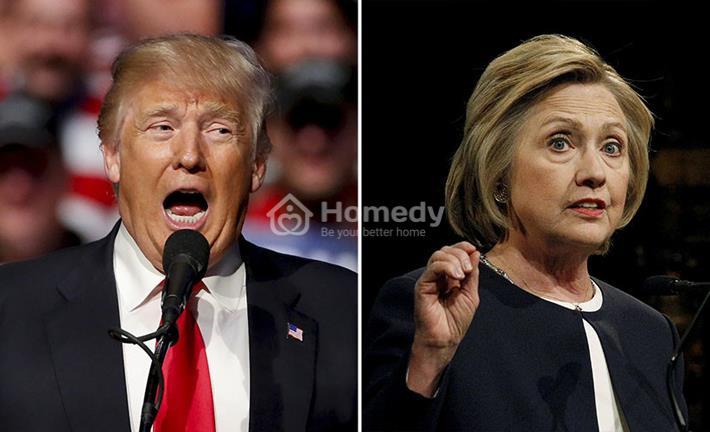 Vũ khí bí mật của hai ứng viên tổng thống Mỹ Donald Trump và Hillary Clinton