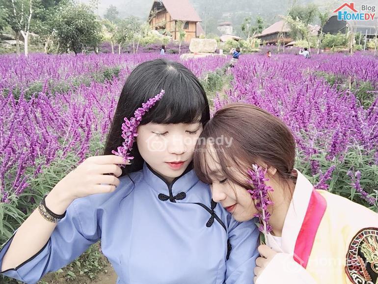 ban tre lam nen cho hoa