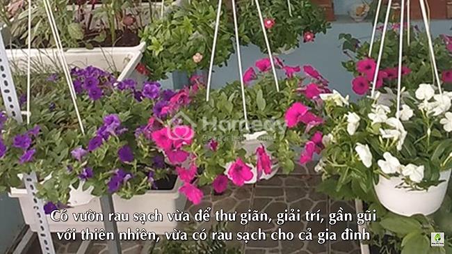 vuon rau co hoa