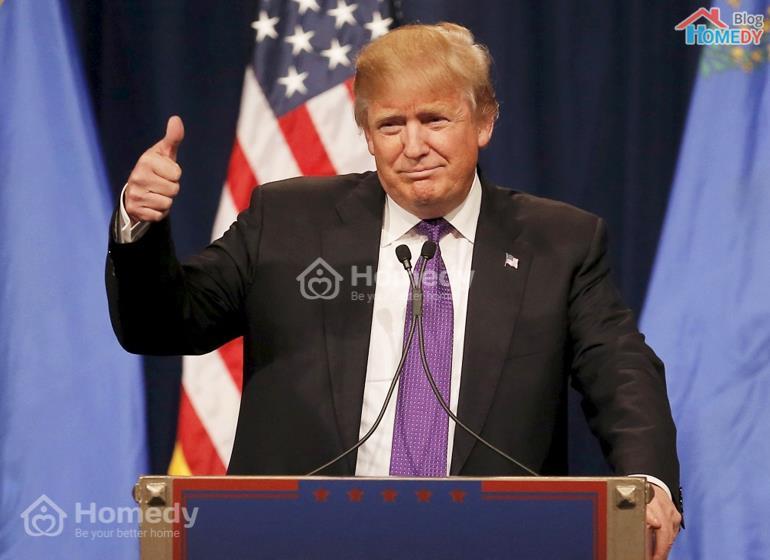 Donald Trump tranh cu cho vi tri tong thong 2017