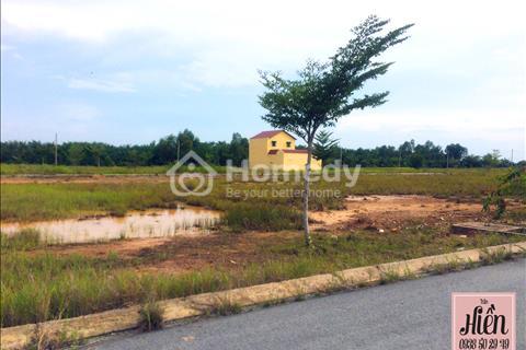 Bán đất nền giá rẻ, SHR, DT 130m2, Giá 300Tr/ Nền, Tặng 7 Tấn VLXD