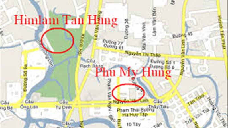 Bán nhà phố Him Lam Kênh Tẻ. 5x20 m2, hầm trệt, 2,5 lầu, đường nội bộ, hướng nam, gần hồ sinh thái - 1
