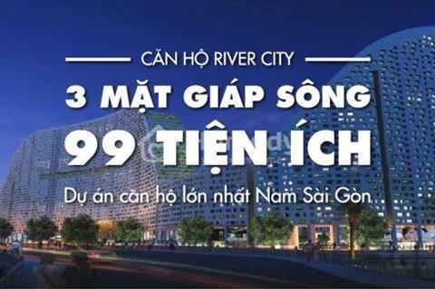 Bán lỗ 100tr căn River City-2PN-65m2, view biển đảo. Tặng kèm 3 máy lạnh,1 máy giặt