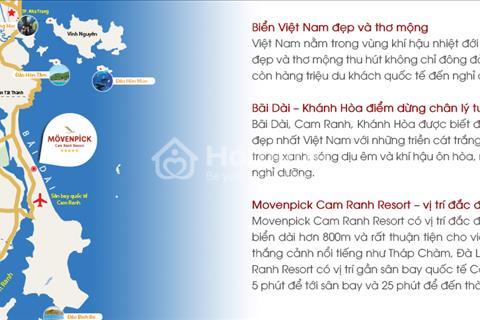 Biệt thự Movenpick Cam Ranh lợi nhuận 100%/10 năm. Cơ hội đầu tư sinh lời hấp dẫn