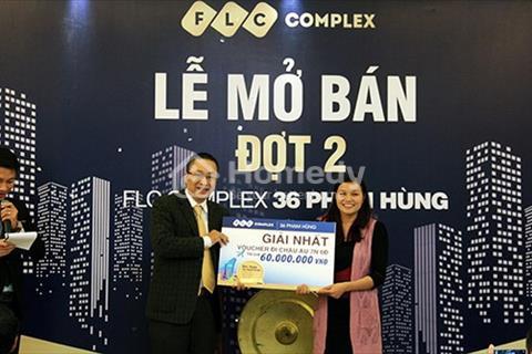 Phòng dự án FLC 36 Phạm Hùng cung cấp chuyển nhượng các căn chung cư 2, 3 phòng ngủ