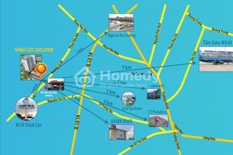 Chỉ 555 triệu sở hữu ngay căn hộ trung tâm phía Tây Sài Gòn.