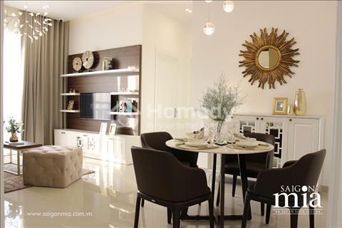 Căn hộ Saigon Mia, căn hộ cao cấp khu Trung Sơn mở bán những căn hộ, shop cuối chiết khấu cao