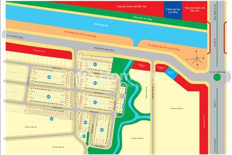 Dự án Biên Hoà Riverside, tại cầu Hoá An, Biên Hoà, Đồng Nai