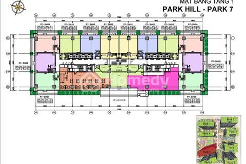 Cho thuê căn Shophouse Park 7 tại  Time City