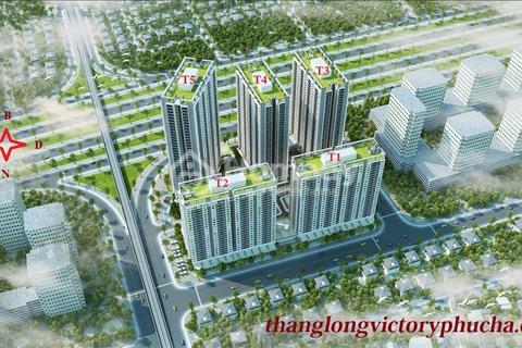 Thăng long victory chỉ vớI 12.5 triệu /m2 sở hữu ngay căn hộ 93.3 m2 , 3 mặt thoáng
