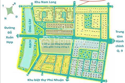 Đất cho thuê dài hạn Khu Thanh Tra - Khu dân cư Kiến Á, P. Phước Long B, Q. 9, TP. HCM
