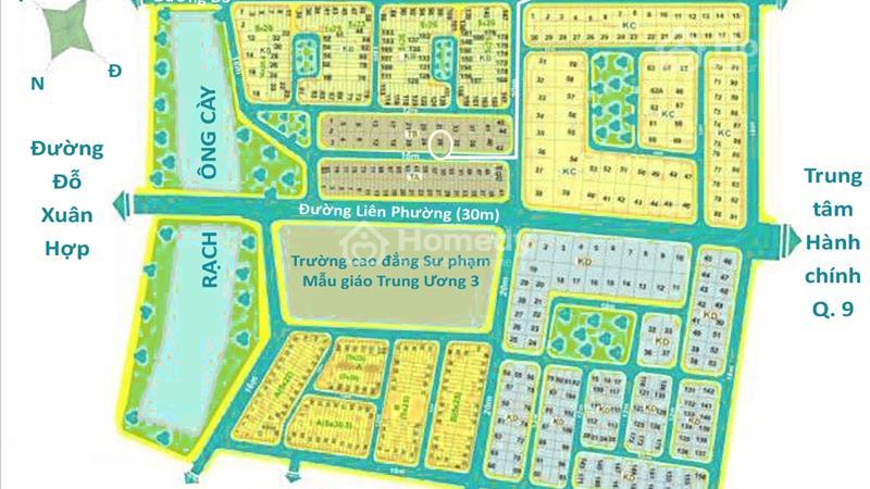 Đất cho thuê dài hạn Khu Thanh Tra - Khu dân cư Kiến Á, P. Phước Long B, Q. 9, TP. HCM - 1