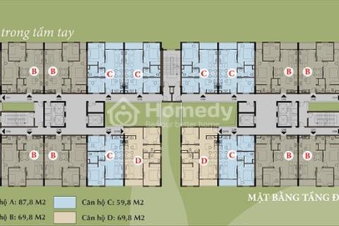 Chính chủ Bán căn 60 m2 hoặc 70m2 chung cư Thăng Long Victory. Giá 13.5 triệu /m2