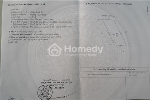 Bán đất thổ cư tại 383/6 Trần Phú, Phường Thành Công, Thành phố Buôn Ma Thuột, tỉnh Đắk Lắk