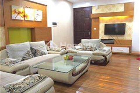 Cho thuê căn hộ chung cư Golden Palace. Diện tích 125,02 m2. Nội thất đầy đủ, đồ tốt