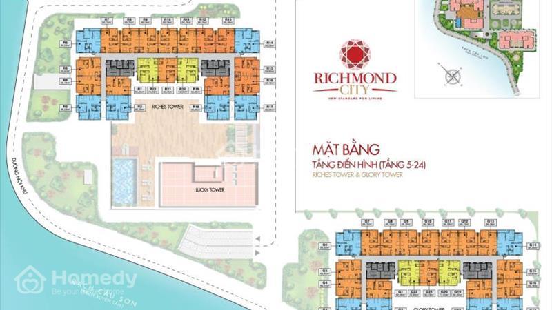Cần bán căn hộ Richmond City–Nguyễn Xí chỉ với 980 triệu CK 18% - 2
