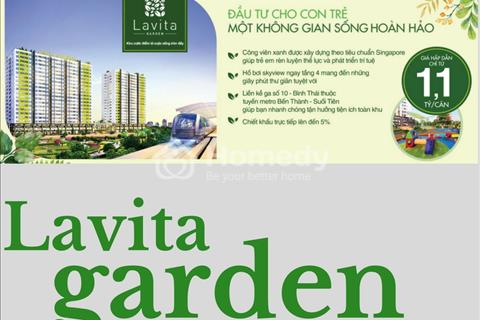 Căn hộ cao cấp liền kề quận 2, giá rẻ hơn 1/2 quận 2, ngay ga metro Bến Thành Suối Tiên.