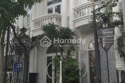 Cho thuê biệt thự mini khu Trần Não 230m2 3PN đầy đủ nội thất có sân vườn view sông