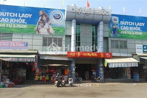 Bán đất chợ Đại Phước , mặt tiền Lý Thái Tổ, cách Phà Cát Lái 2km, chỉ 600 triệu