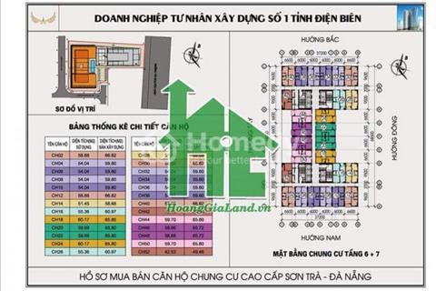 Bán căn hộ chung cư khách sạn Mường Thanh, Sơn Trà, Đà Nẵng