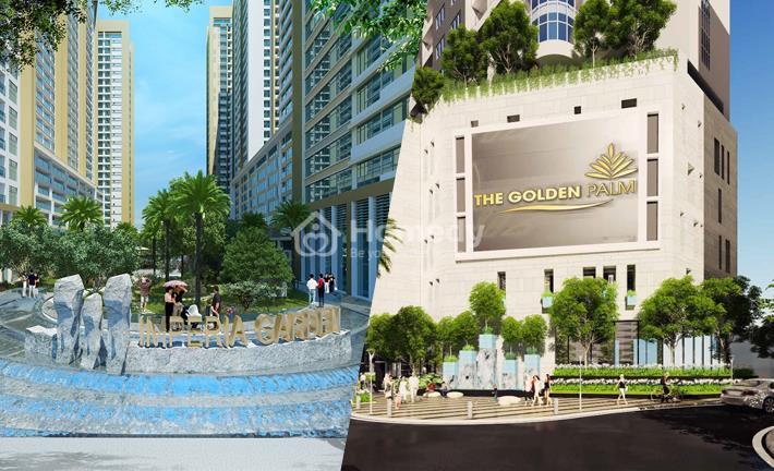 """Cuộc chiến """"ốc đảo xanh trong lòng Hà Nội"""" tại The Golden Palm và Imperia Garden"""