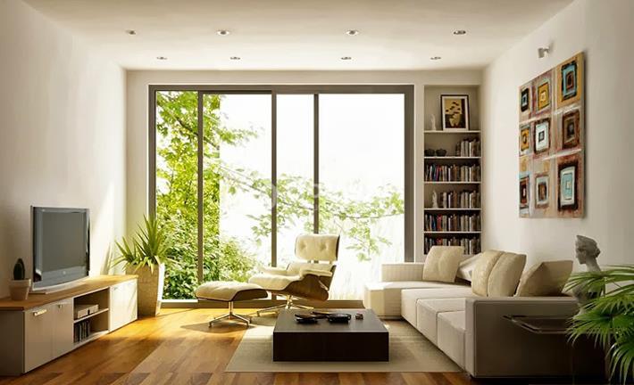 Sử dụng vật liệu kính trong thiết kế nội thất nhà ở