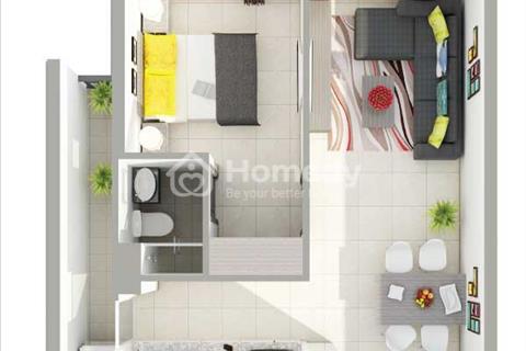 Bán căn hộ sắp giao nhà gần Đầm Sen căn hộ 8X Rainbow 2pn/64m2, trả góp 6 triệu/tháng