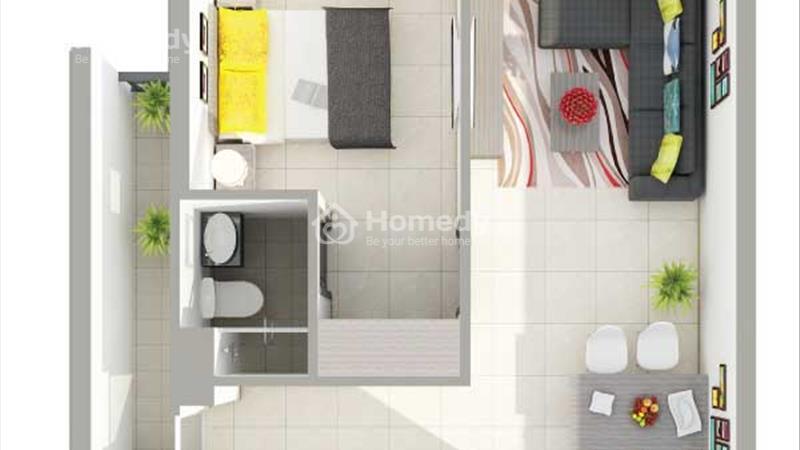 Bán căn hộ sắp giao nhà gần Đầm Sen căn hộ 8X Rainbow 2pn/64m2, trả góp 6 triệu/tháng - 1