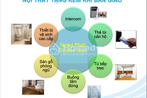 Căn hộ Golden Star mặt tiền đường Nguyễn Thị Thập, từ 1,3 tỷ/căn, chiết khấu lên tới 9%