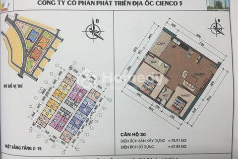 Chính chủ cần bán gấp căn góc 9-30 HH1a chung cư Thanh Hà Mường Thanh