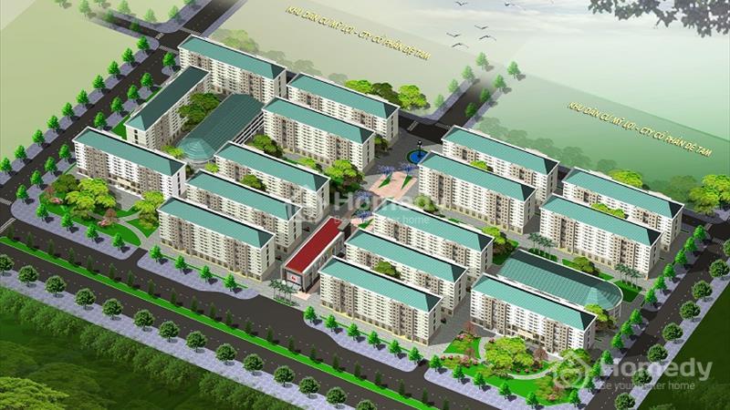 Bán chung cư DTA Nhơn Trạch thanh toán 60 triệu nhận nhà ở ngay, chiết khấu 1,5% - 7% - 3