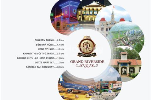 Đã có bảng giá căn hộ  Grand Riverside giá CĐT với chiết khấu hấp dẫn giá tốt nhất thị trường Q.4
