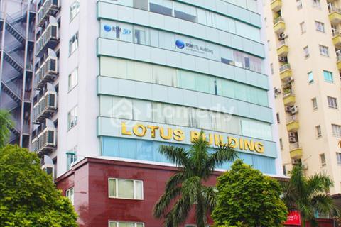 Cho thuê văn phòng tòa nhà Lotus Building Duy Tân