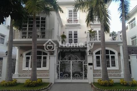 Gia đình cần tiền bán gấp biệt thự tự xây Mỹ Hưng, Phú Mỹ Hưng, quận 7.