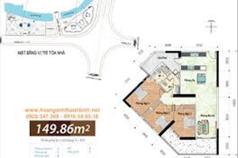 Bán căn hộ Hoàng Anh Thanh Bình, Q7(Block B, DT: 150m2 có 3PN, căn số 09, giá=3,4tỷ)