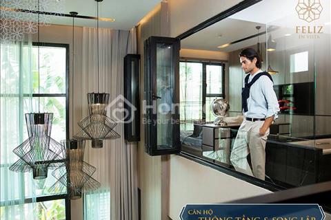 """Ra mắt tháp đẹp nhất dự án """"Feliz En Vista""""- Tháp duy nhất sở hữu thang máy riêng cho từng căn hộ"""