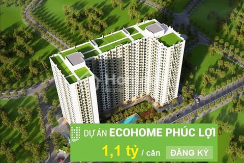 Ra hàng hot đợt 2 chung cư Eco Home Phúc Lợi giá từ 1,1 tỷ, tiêu chuẩn xanh có bể bơi