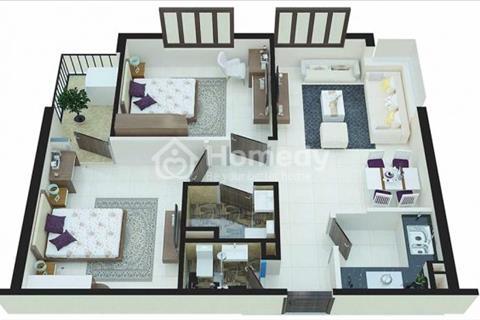 Bán chung cư C1, C2 Xuân đỉnh, căn diện tích 60,5 m2, 2 phòng ngủ giá 1,439 tỷ