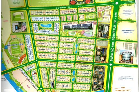Bán nhà phố khu đô thị mới Him Lam Kênh Tẻ. 4.5x20, hầm trệt 2 lầu, sân thượng, 11.4 tỉ