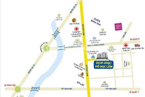 Cơ hội sở hữu căn hộ giá tốt HOF Hồ Học Lãm - Bình Tân chỉ 708 triệu/căn