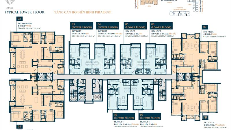 Căn hộ Feliz En Vista-Duplex 3Pn 133m2 Full nội thất. Giá 4,7tỷ - 5
